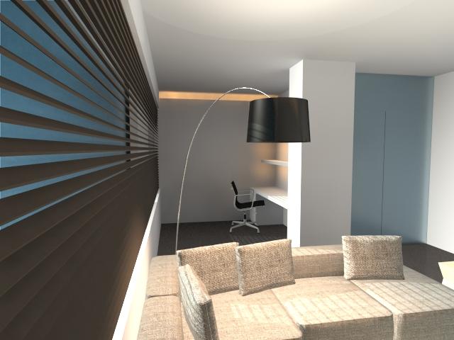 woonkamer ontwerp van Steven Engelen uit Geel