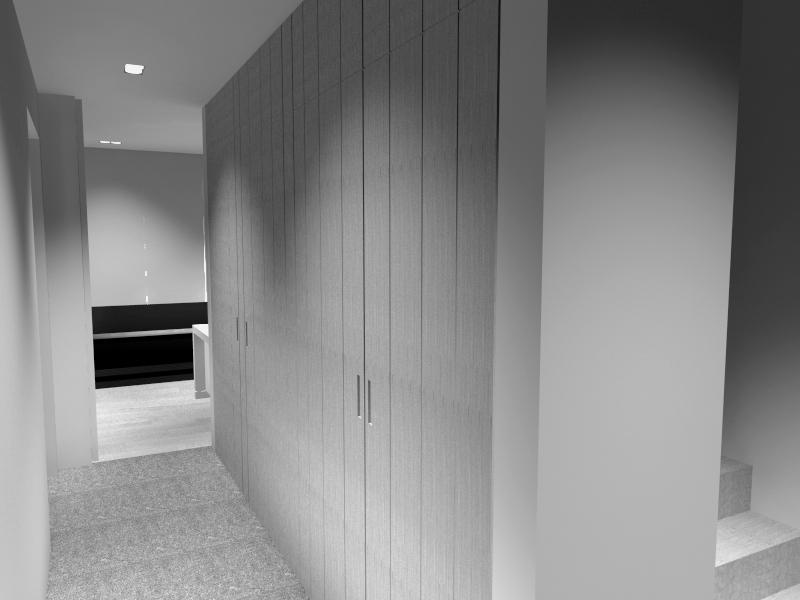 Gang ontwerp interieurarchitect Steven Engelen
